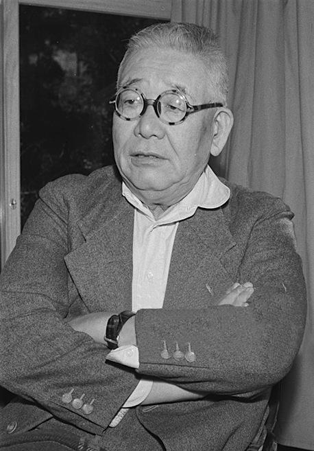 Kitaoji Rosanjin himself, photographed in 1954.