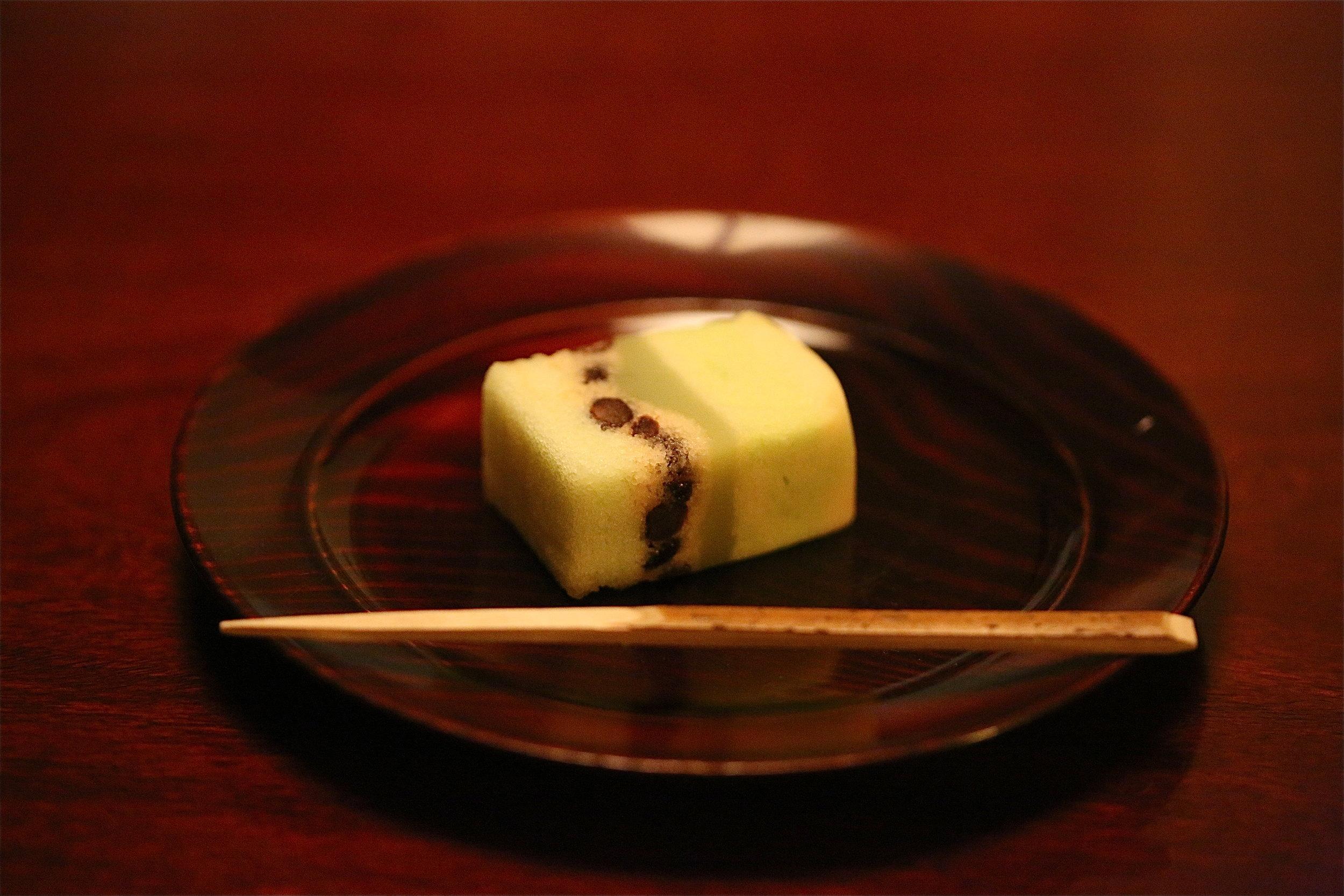 Dessert at the end of a kaiseki ryori. ©TOKI