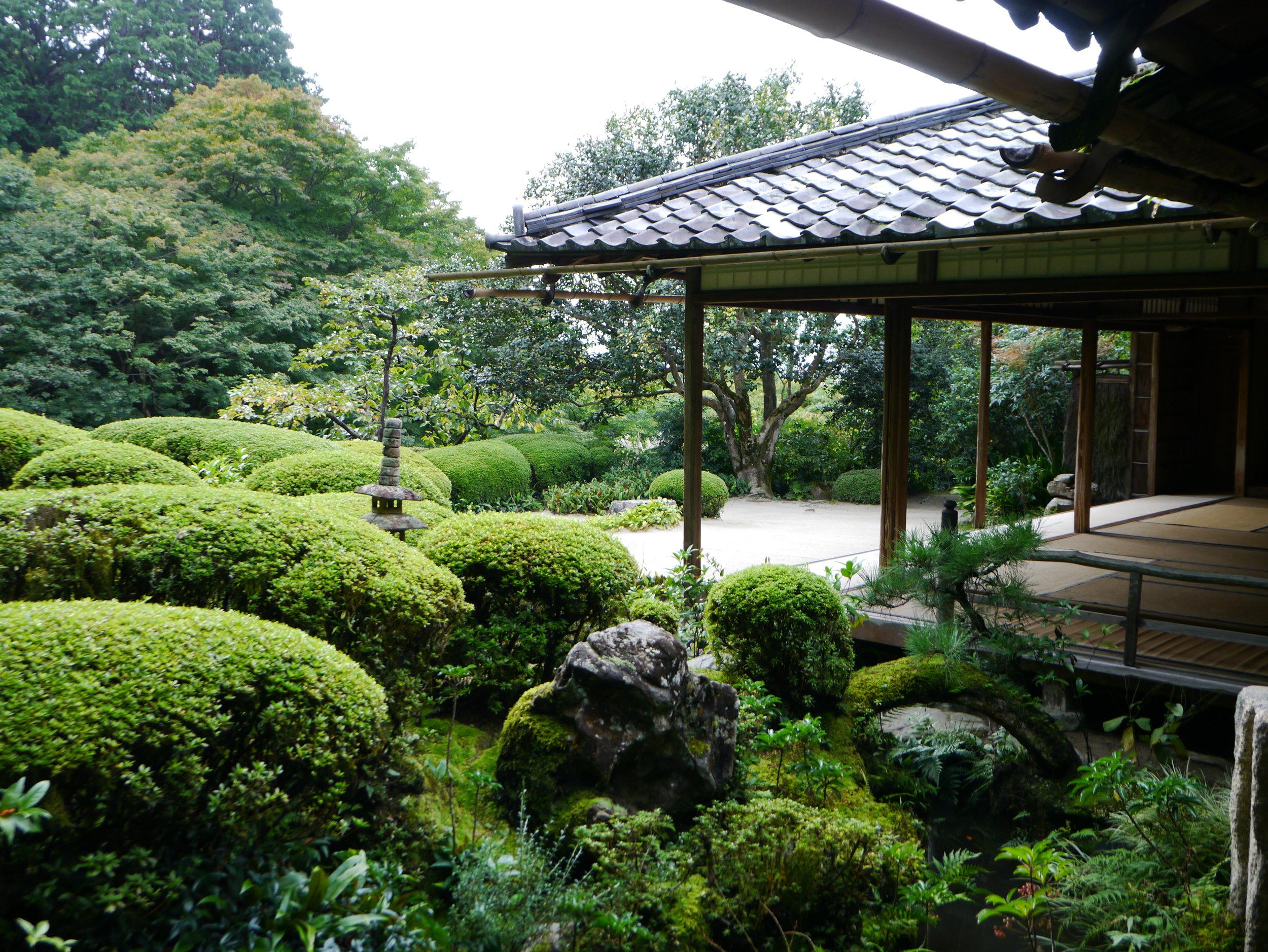 Japanese gardens are lush, full of wonder and charm. ©TOKI