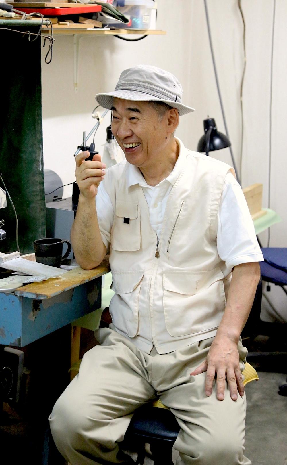 Kobayashi sat down with us to discuss his craft. ©TOKI