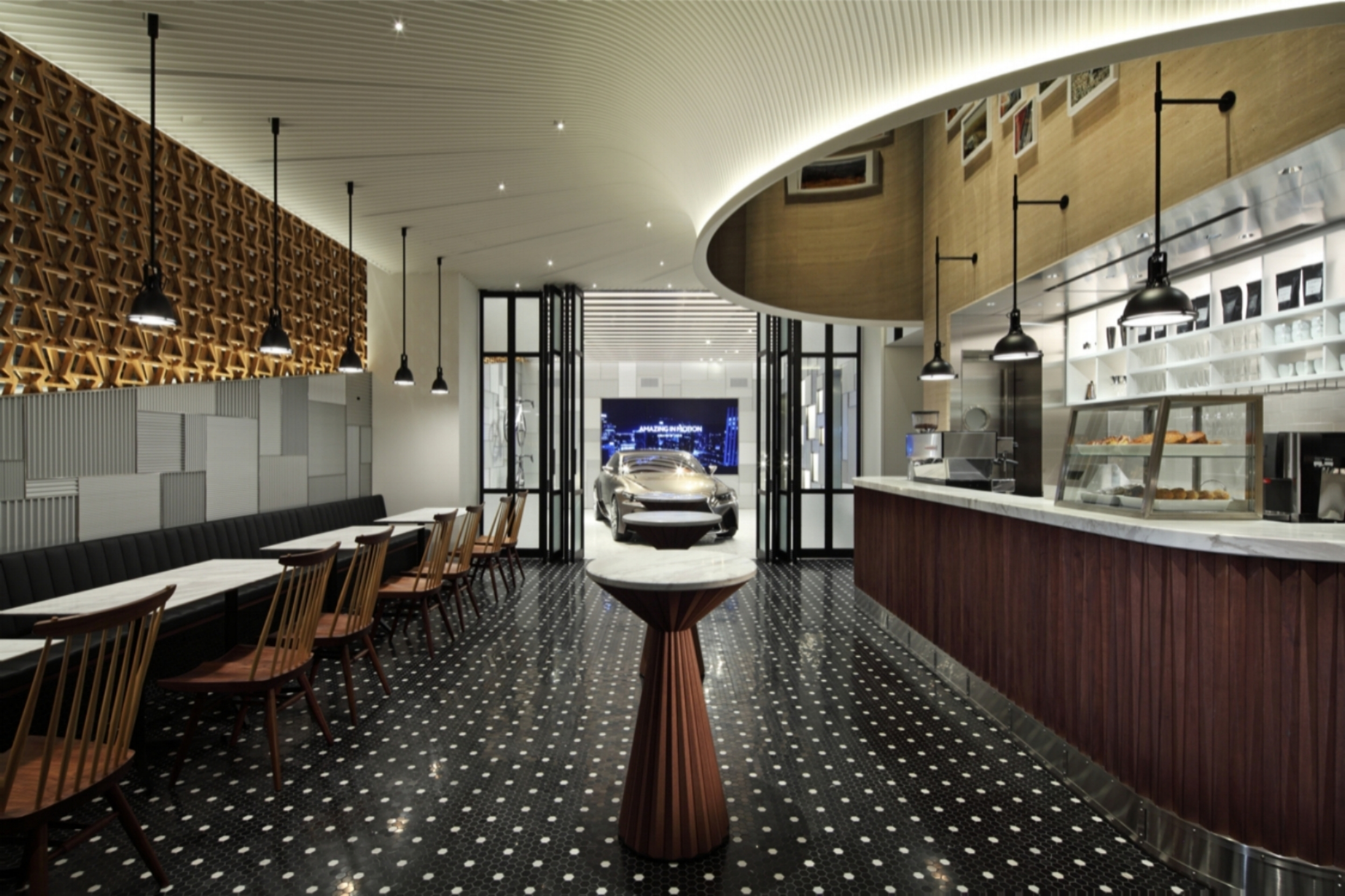 Lexus Cafe © http://wonder-wall.com