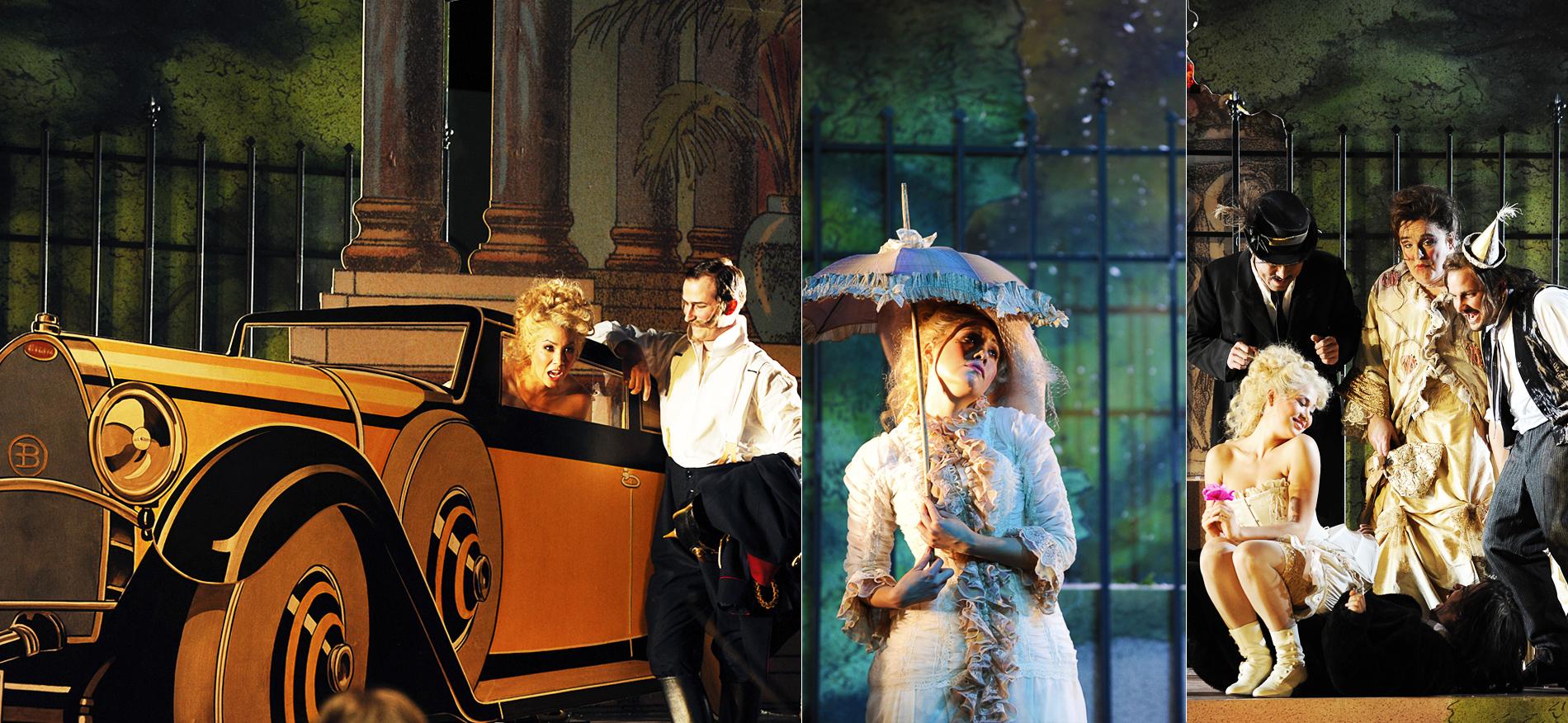 Zerbinetta, Ariadne auf Naxos //Theater und Orchester Heidelberg //Director: Lorenzo Fioroni // Stage: Ralf Käselau //Costumes: Sabine Blickenstorfer //Photos: Klaus Fröhlich