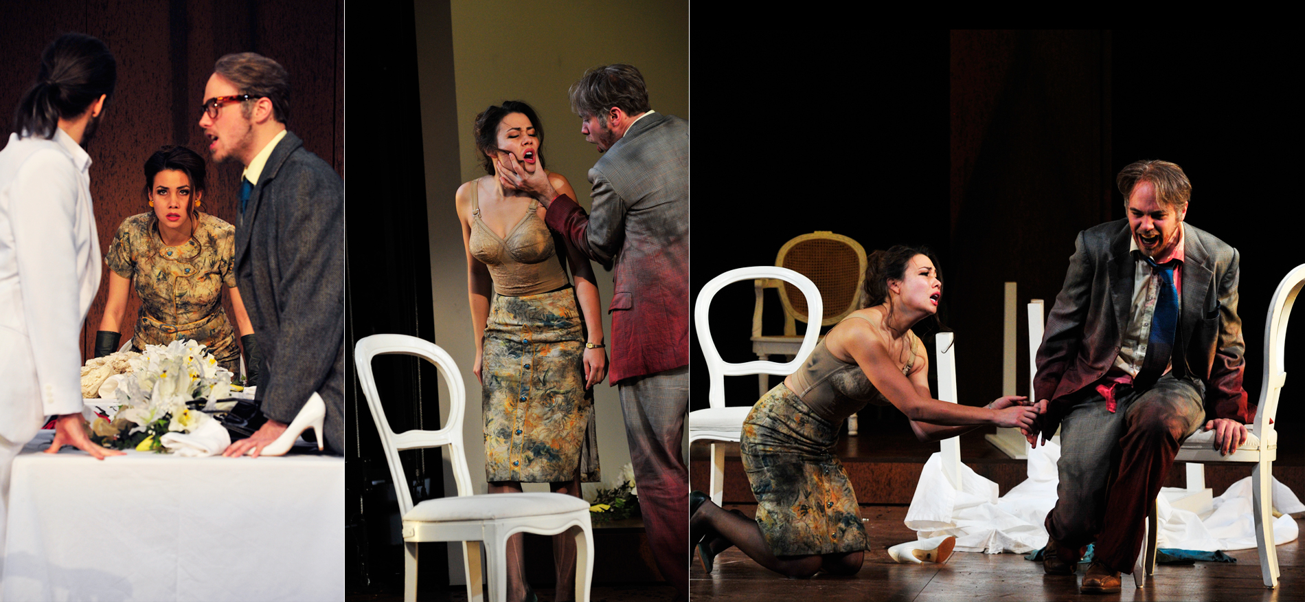 Fausta, Marco Attilio Regolo // Schwetzingen Baroque Festival // Director: Eva-Maria Höckmayr // Stage: Nina von Essen // Costumes: Julia Rösler // Photos: Maurice Korbel