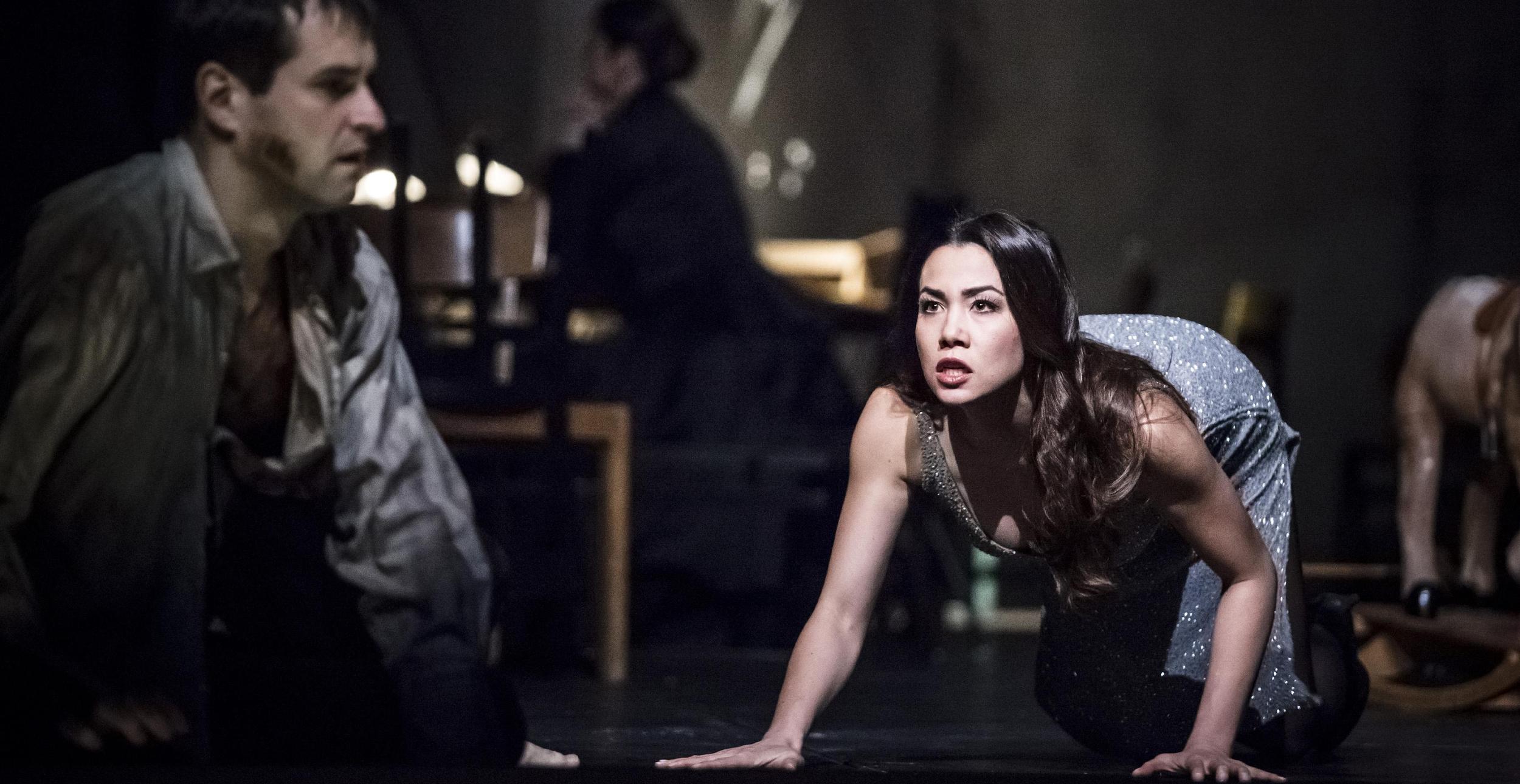 Ariadne, Dionysos// Theater und Orchester Heidelberg// Director: Ingo Kerkhof // Stage: Anne Neuser // Costumes: Inge Medert // Photo: Florian Merdes