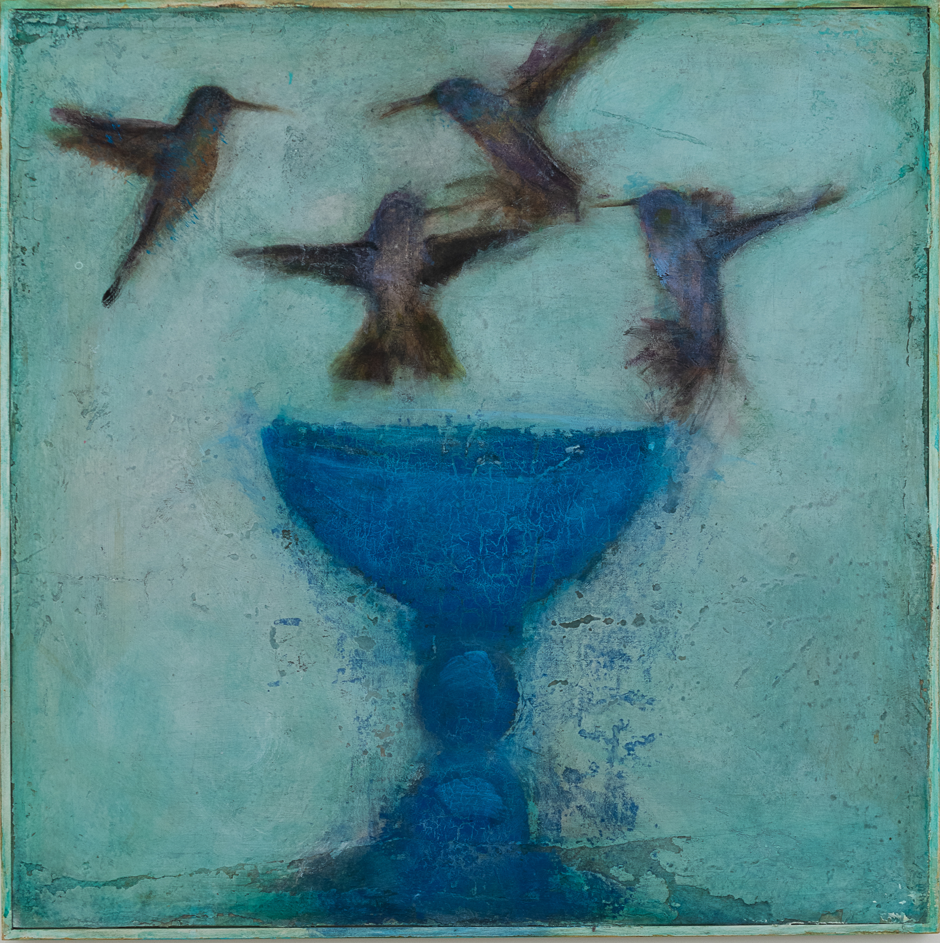 Birds and Vessel, X