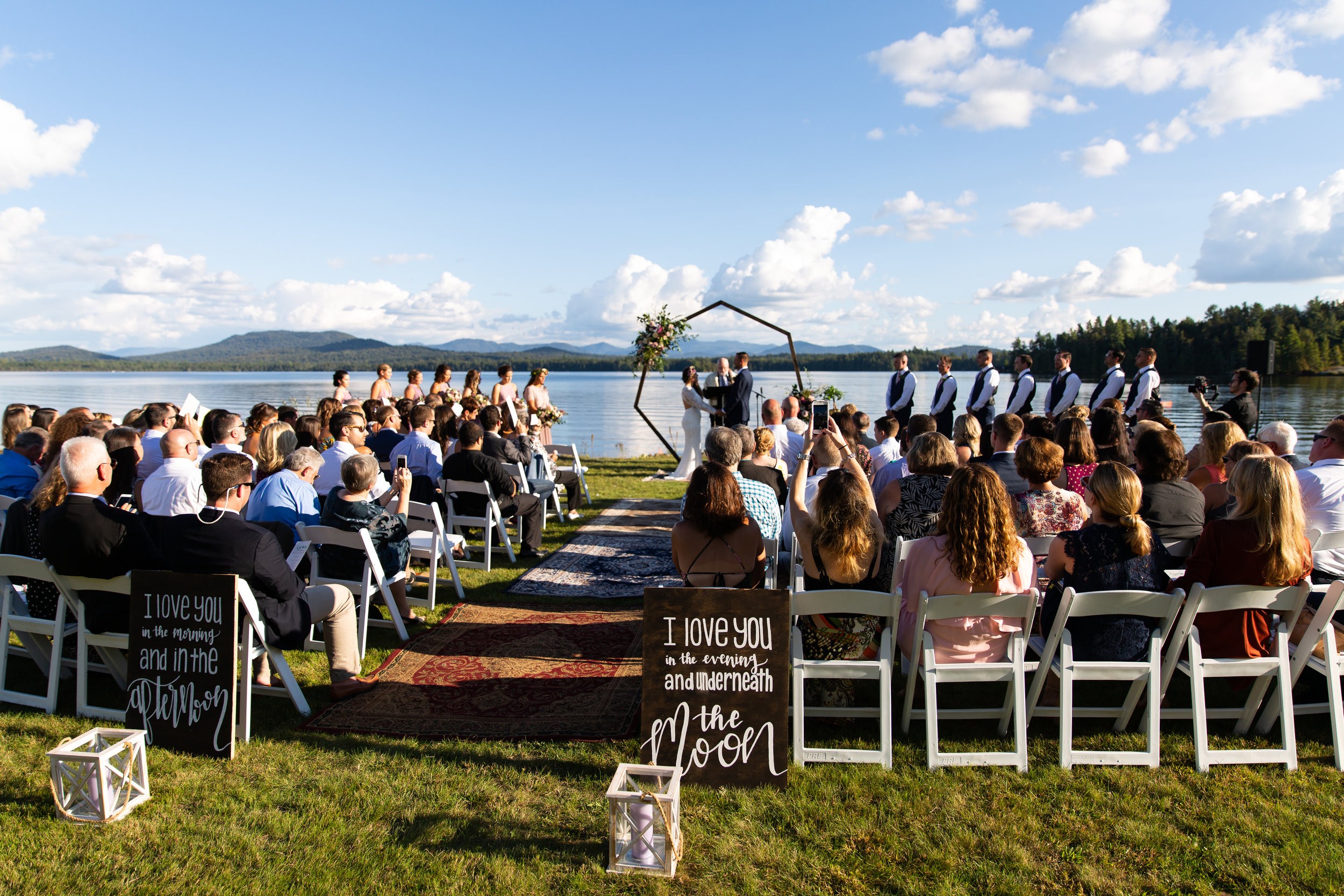 Charissa & Matthew Tonkin  A Bohemian wedding in Saranac Lake, New York