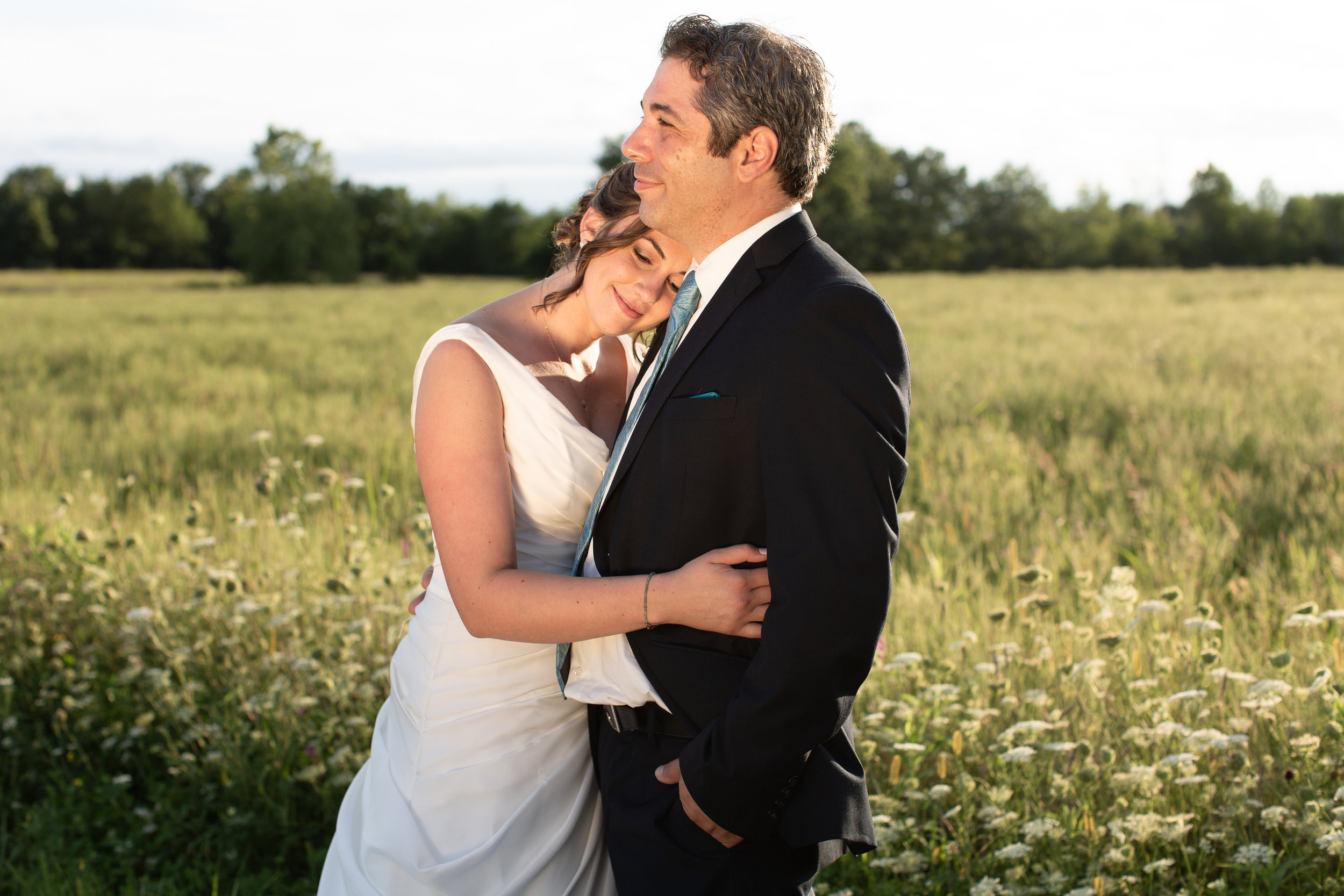 Leah & Erich Campolongo  An intimate wedding in Schodack, New York