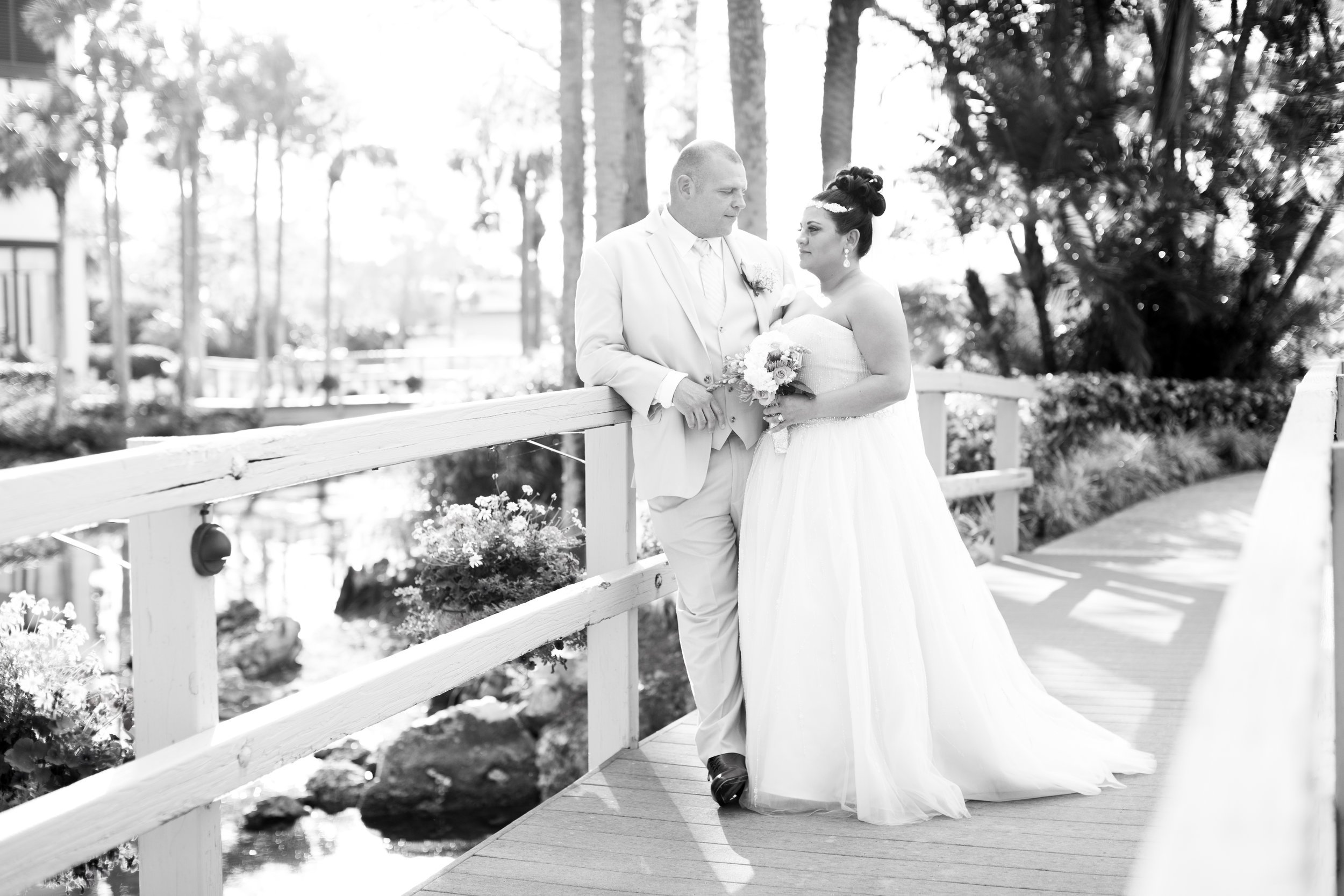 Nikki & Bill Sansone  The Regency Grand Cypress Hotel - Orlando, Florida