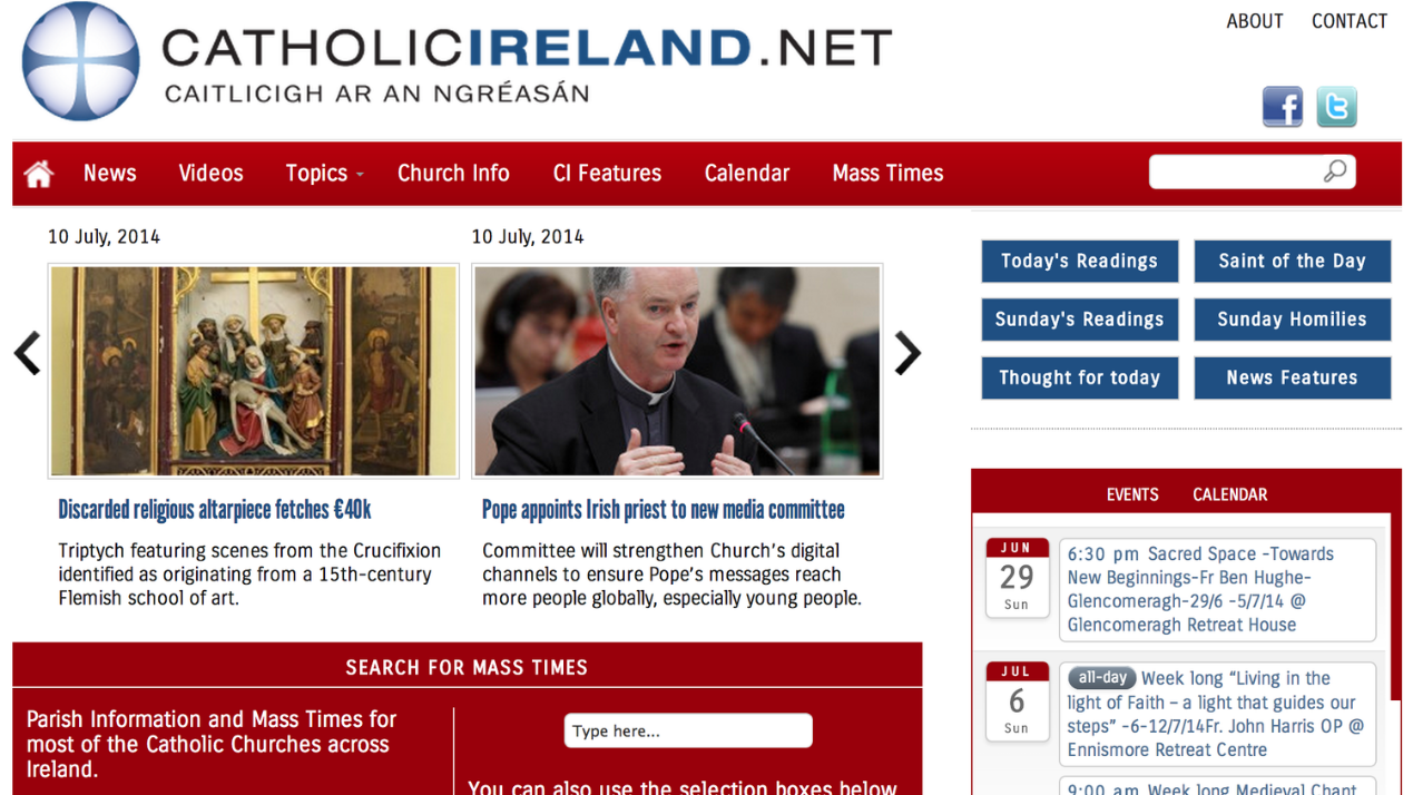 Keep up-to-date on all things Catholic