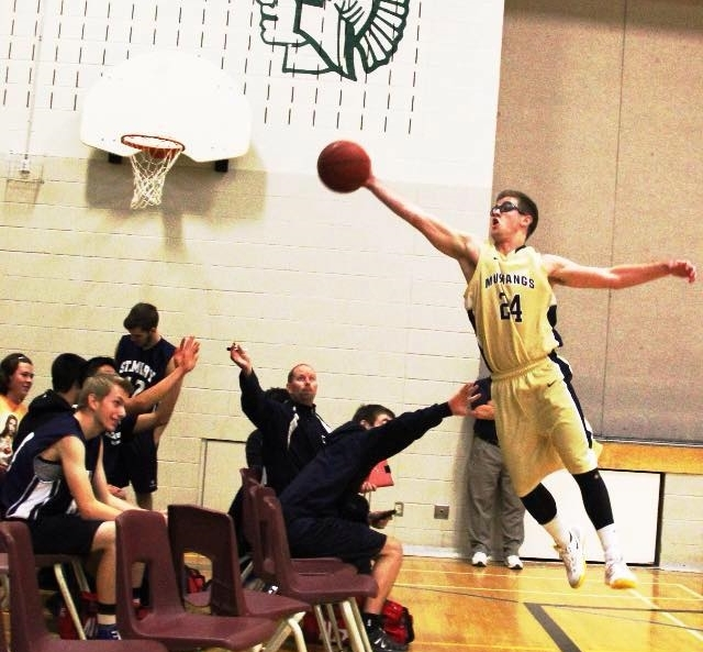 St. Mike's Craig Oliver can fly! (2014-2015)