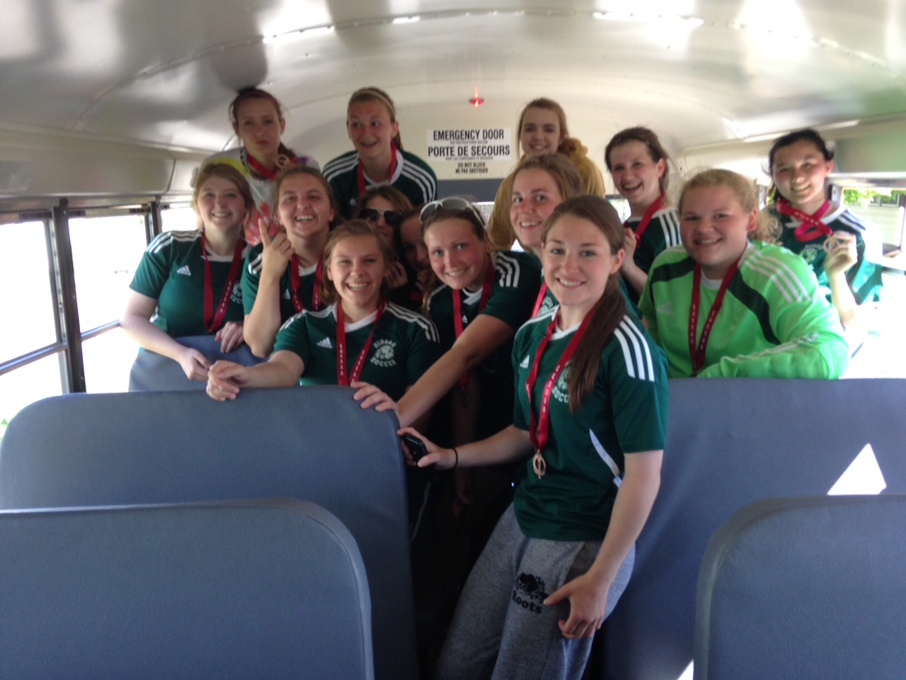 14-15 Rideau Sr Girls Soccer LGSSAA A Champs
