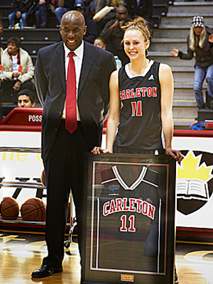2012: NG's Ashleigh Cleary honoured by the Ravens