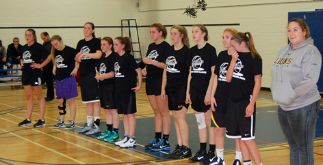 13-14: Coach Laming and her All-Stars