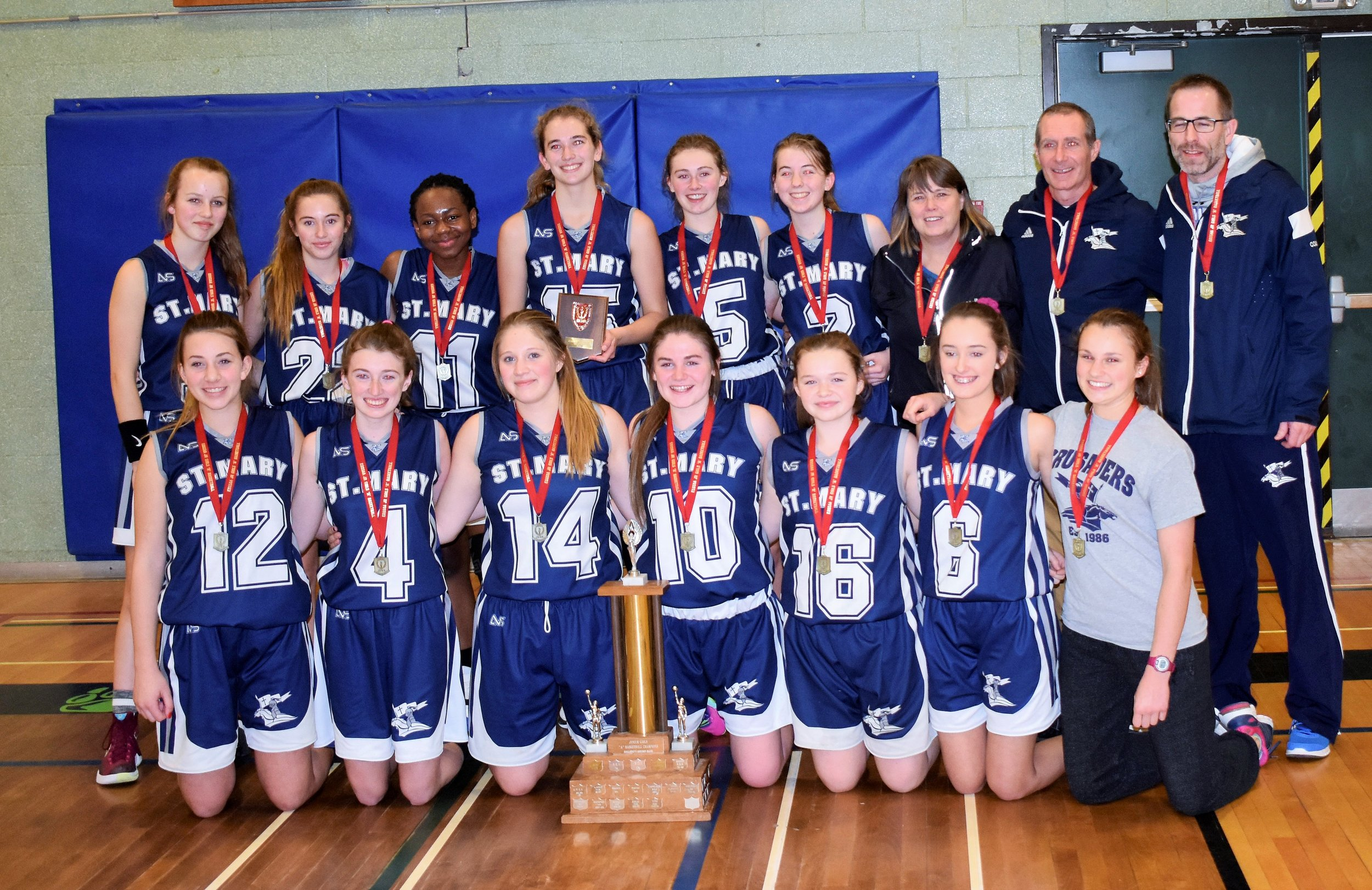 St. Mary EOSSAA Champs 17-18