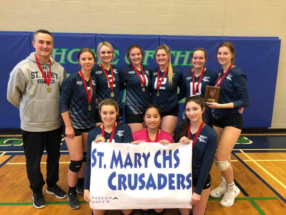 St. Mary: EOSSAA Champs 18-19