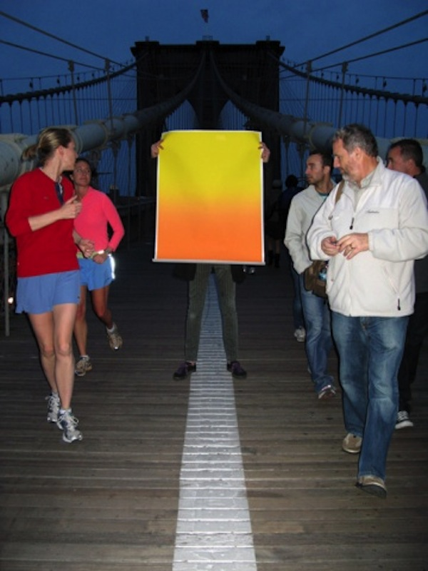 "Sunset, v.2, 2008, 60x 40""  , archival inkjet print, facemounted to plexiglas"