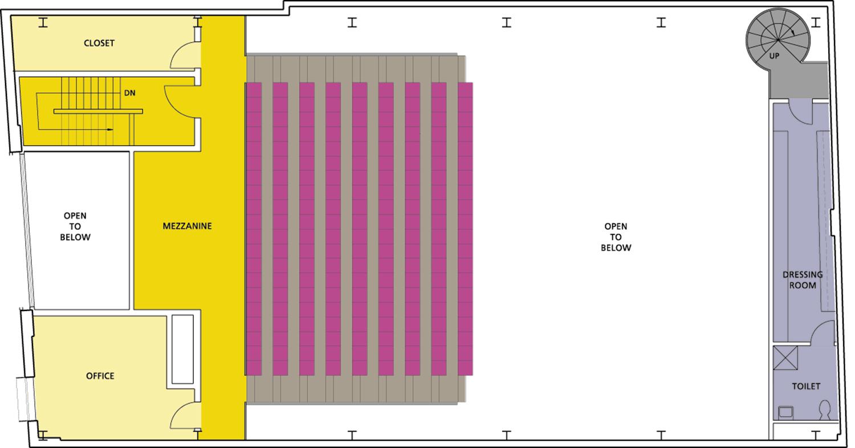 1st mezzanine plan