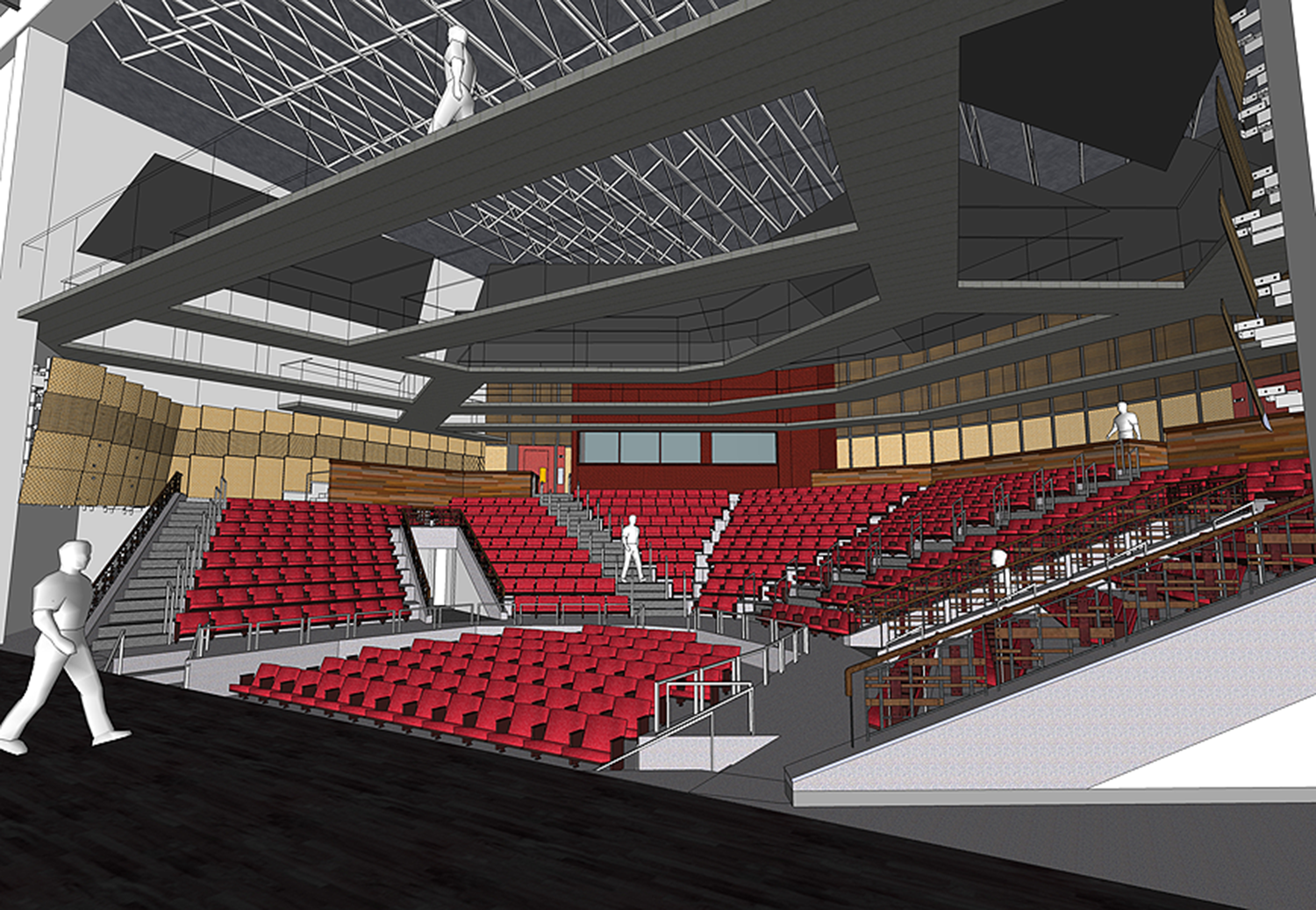 Theater from stage