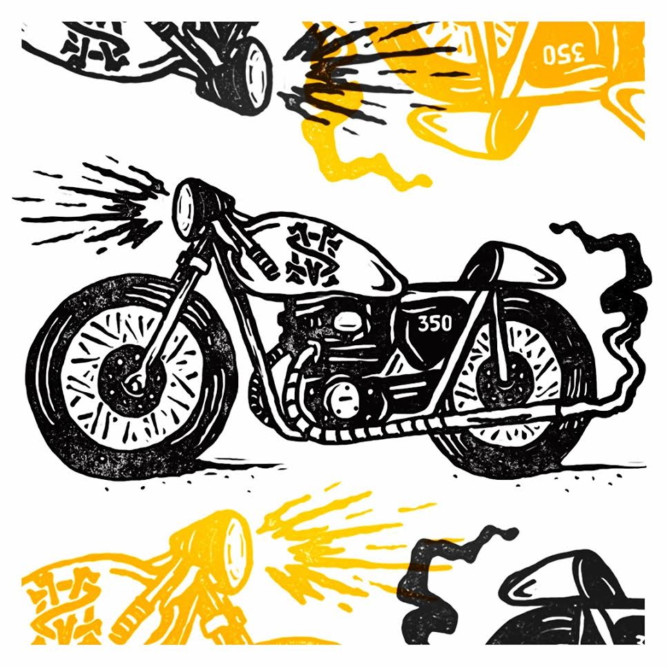 StephenMerlo_MotorcycleIllustration