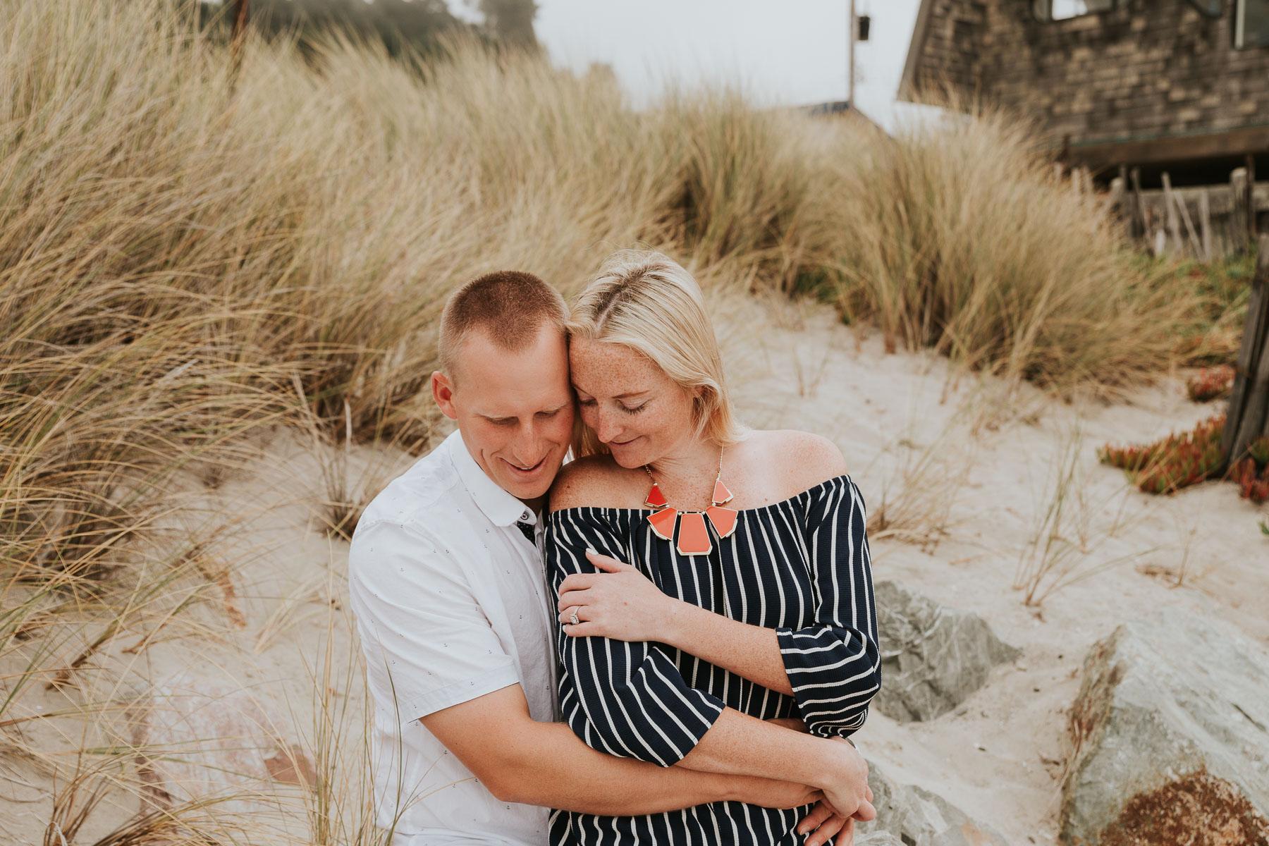 Beach Engagement Photos by Lauren Alexandra Photography