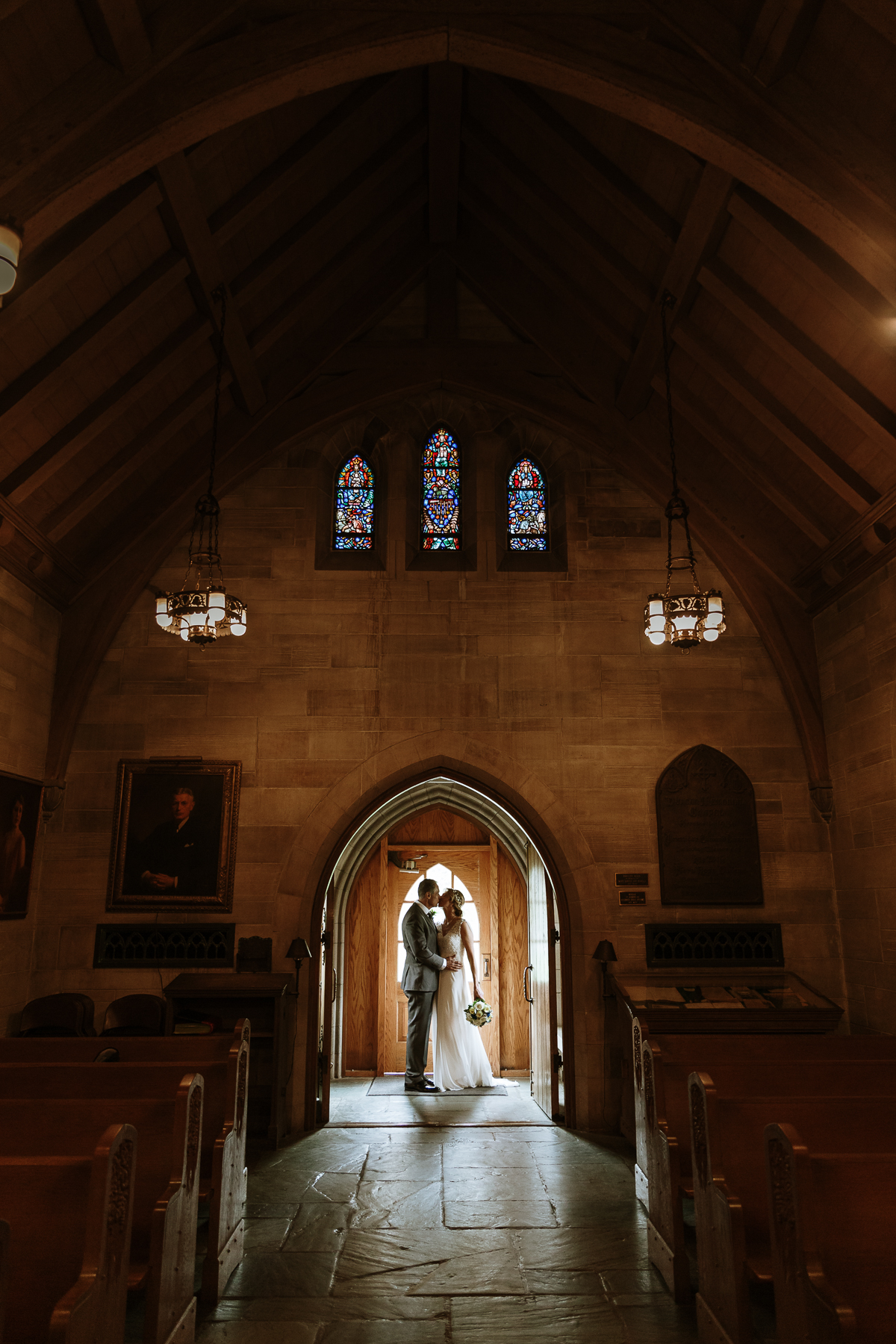 Duncan Memorial Chapel Wedding by Lauren Alexandra Photography
