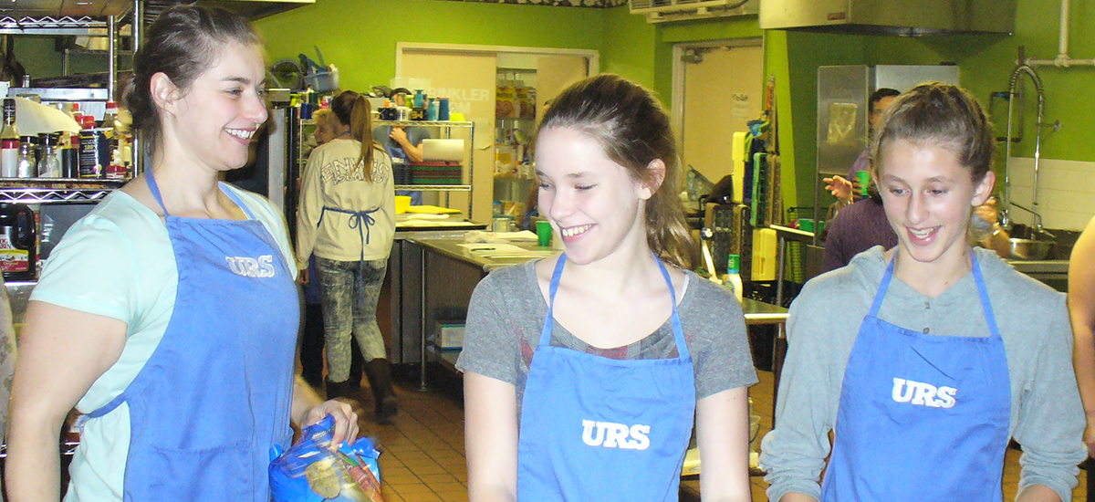 URS Corporation volunteers