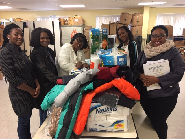 City of God women's ministry, led by Pastor Felicia, conducted a donation drive for the Center. While they were delivering the supplies, they took a tour and decided to sponsor Christmas Day dinner. Thank you for all of your efforts!!