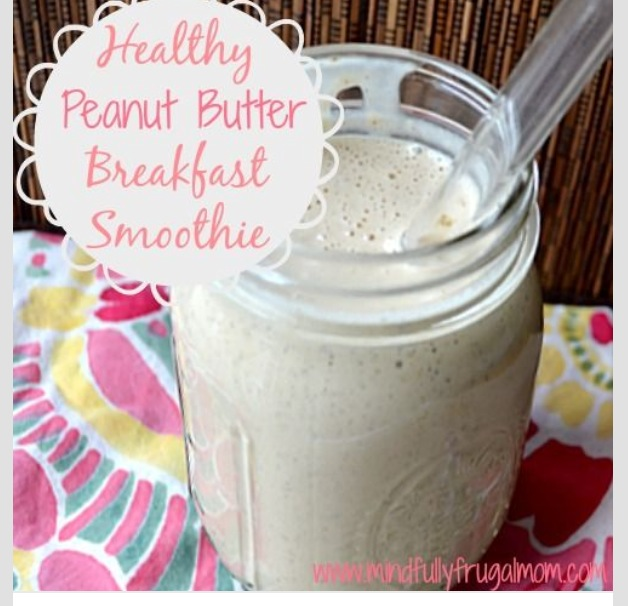 Must add peanut butter or my favorite - almond butter - to vanilla Shakeology - yum!