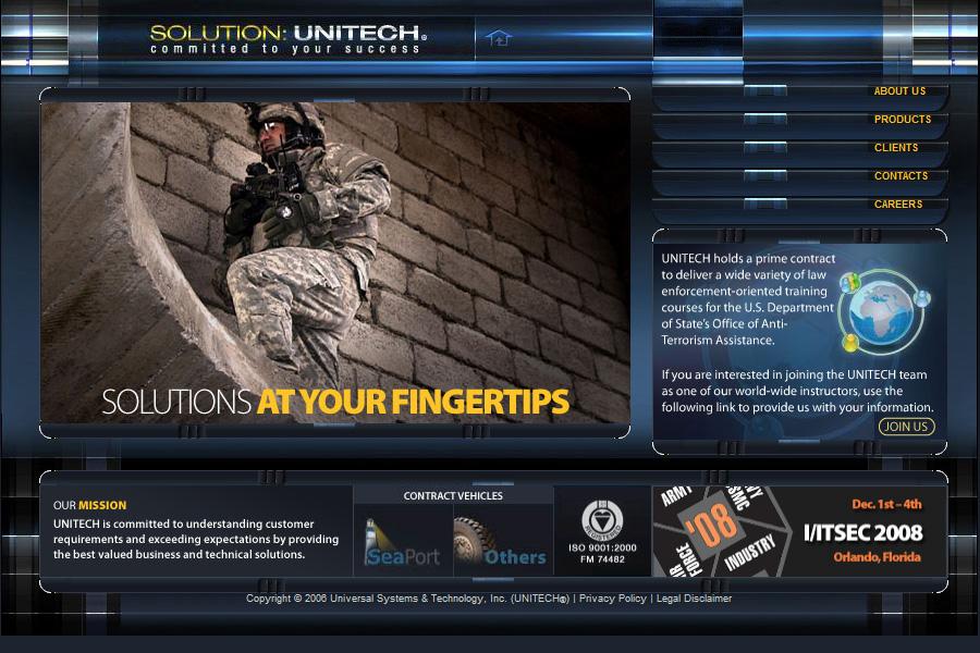 Unitech Website