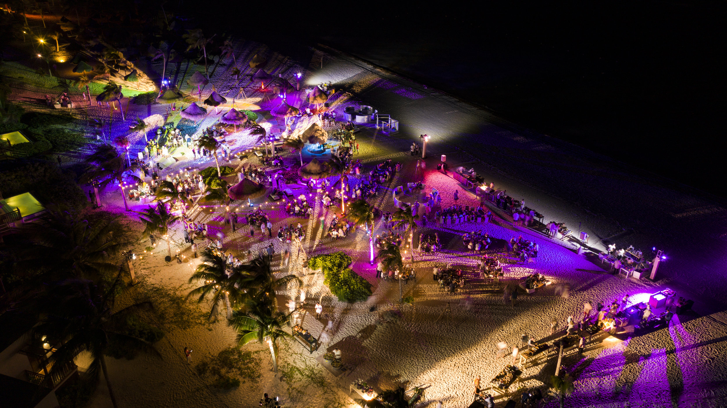 Riveira Maya Beach Party