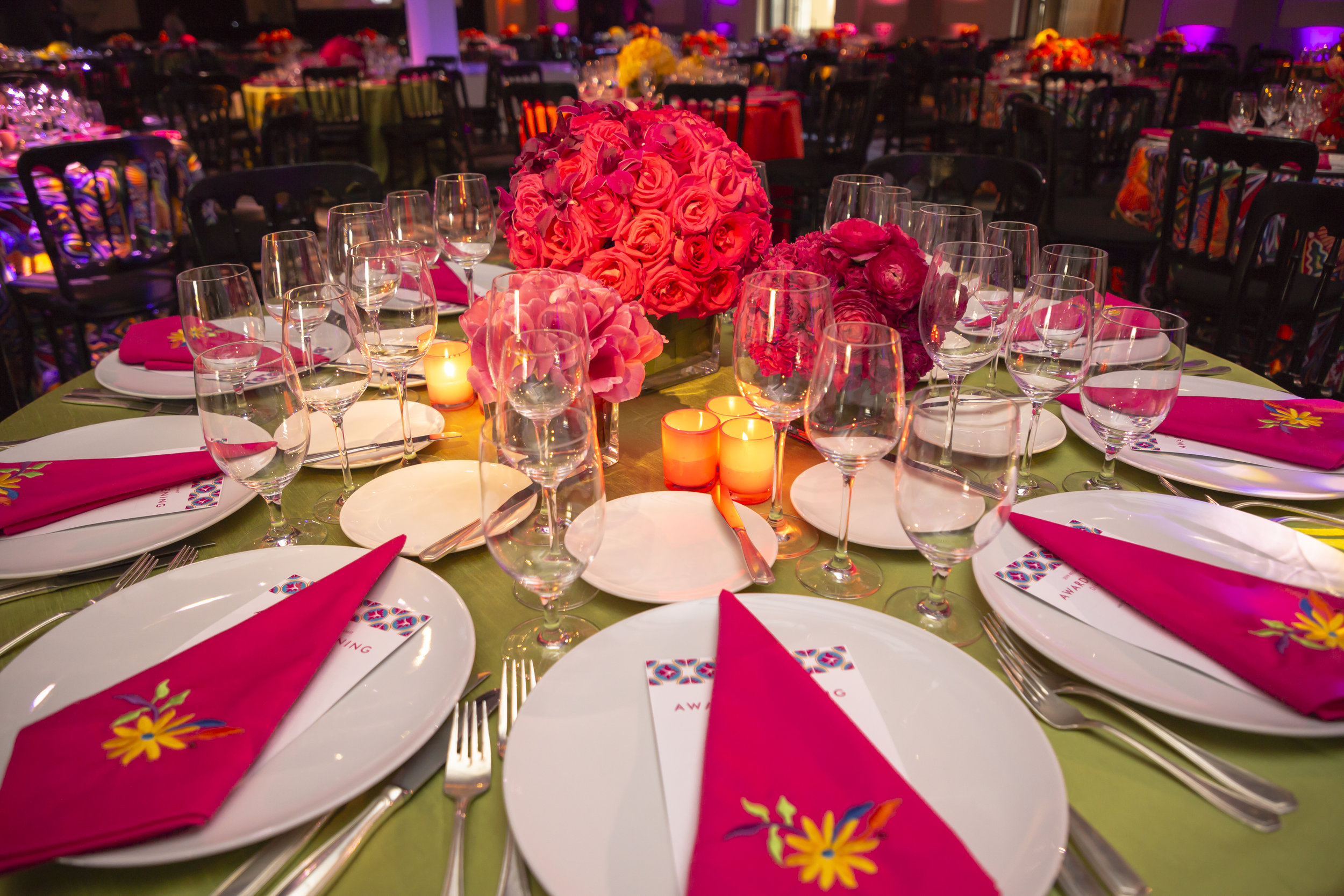 Colorful Awards  Dinner