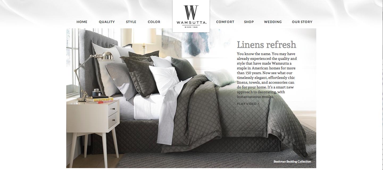 Wamsutta Homepage
