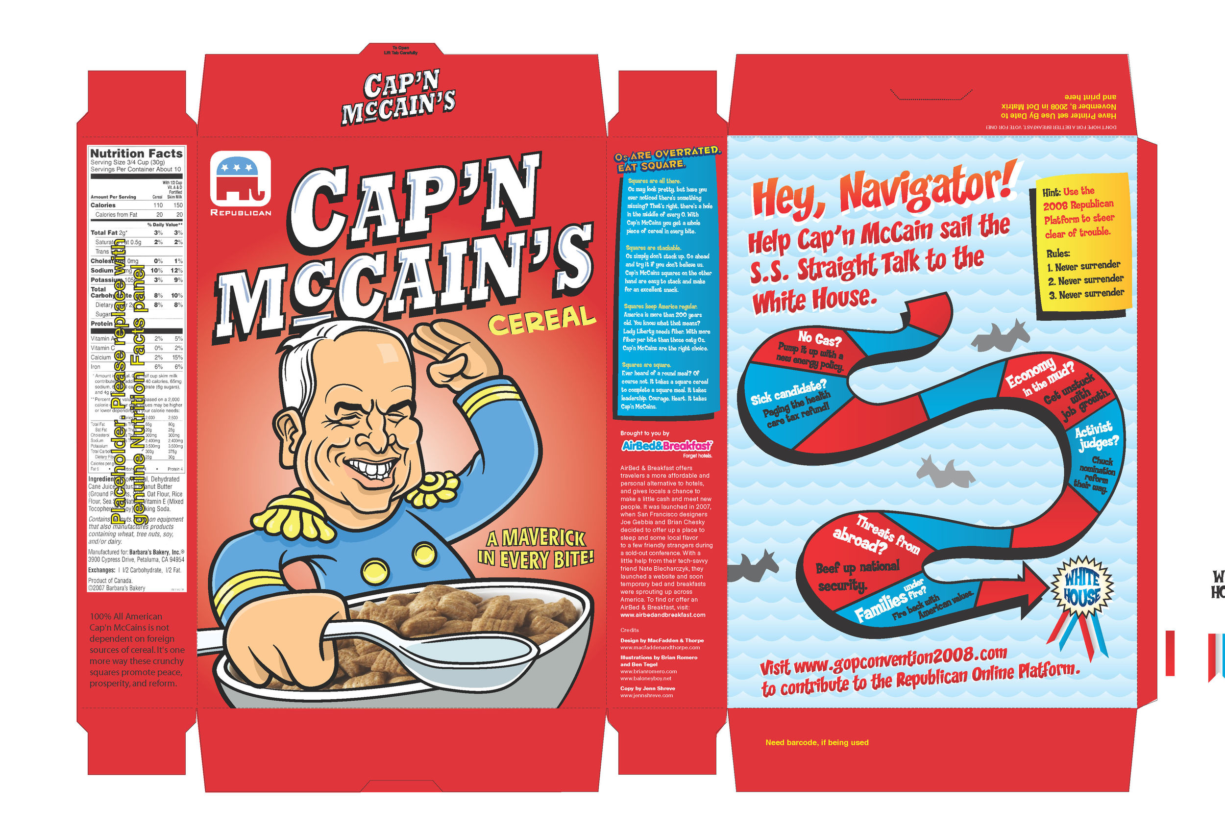 Click to enlarge. Cap'N McCain's