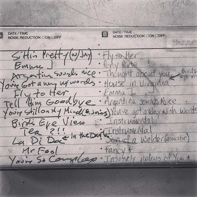 Vintage cassette demos