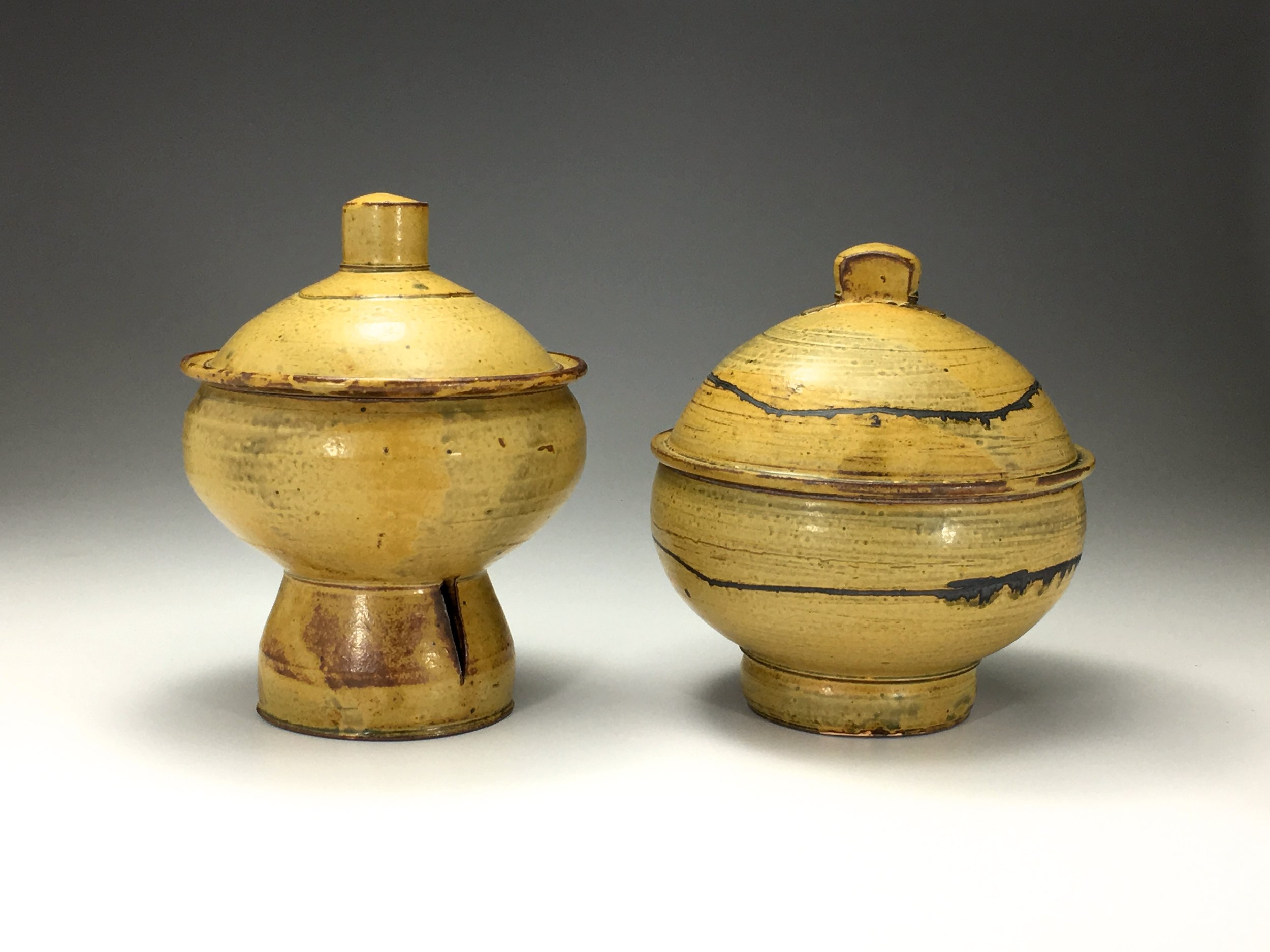 Connelly lidded jars .JPG