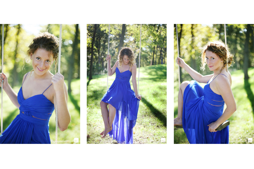 Caitlin Martin on tree swing for blog