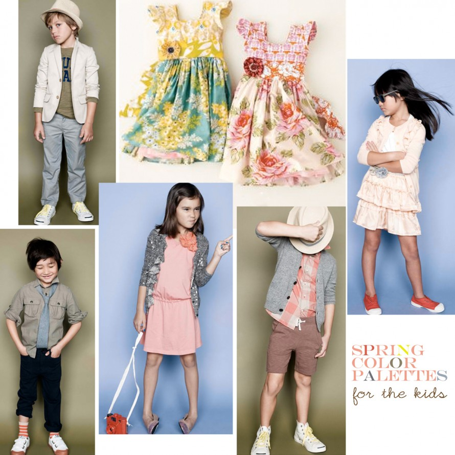spring color palettes for kids
