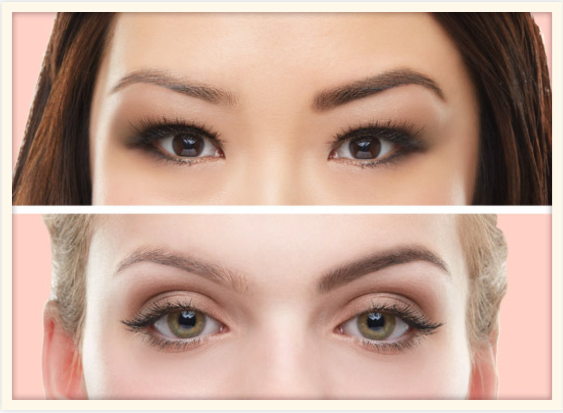Gimme BROW before and afters, thanks to Benefit.com