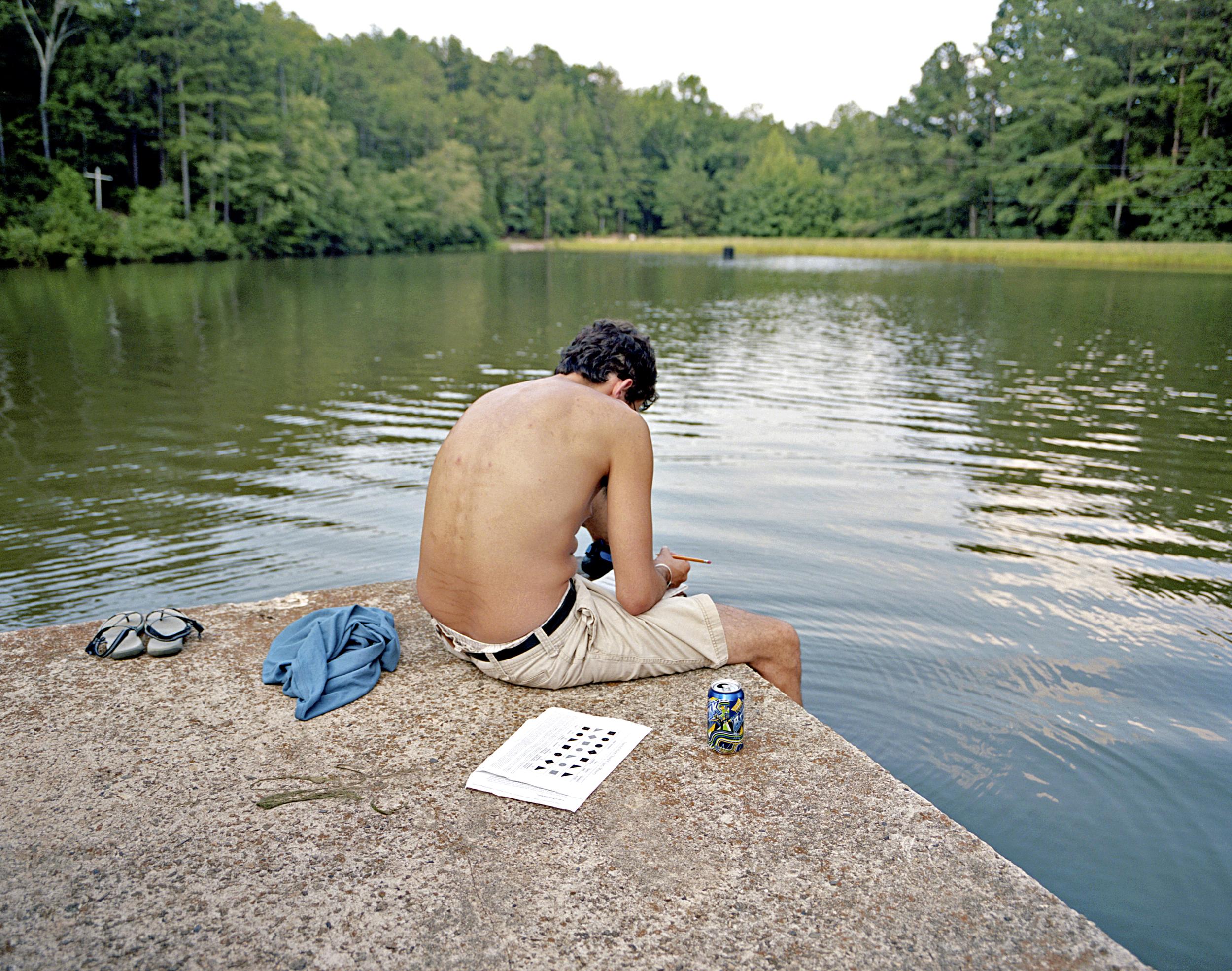 Drew Smith, Camp Fasola, Anniston AL, 2011.jpg