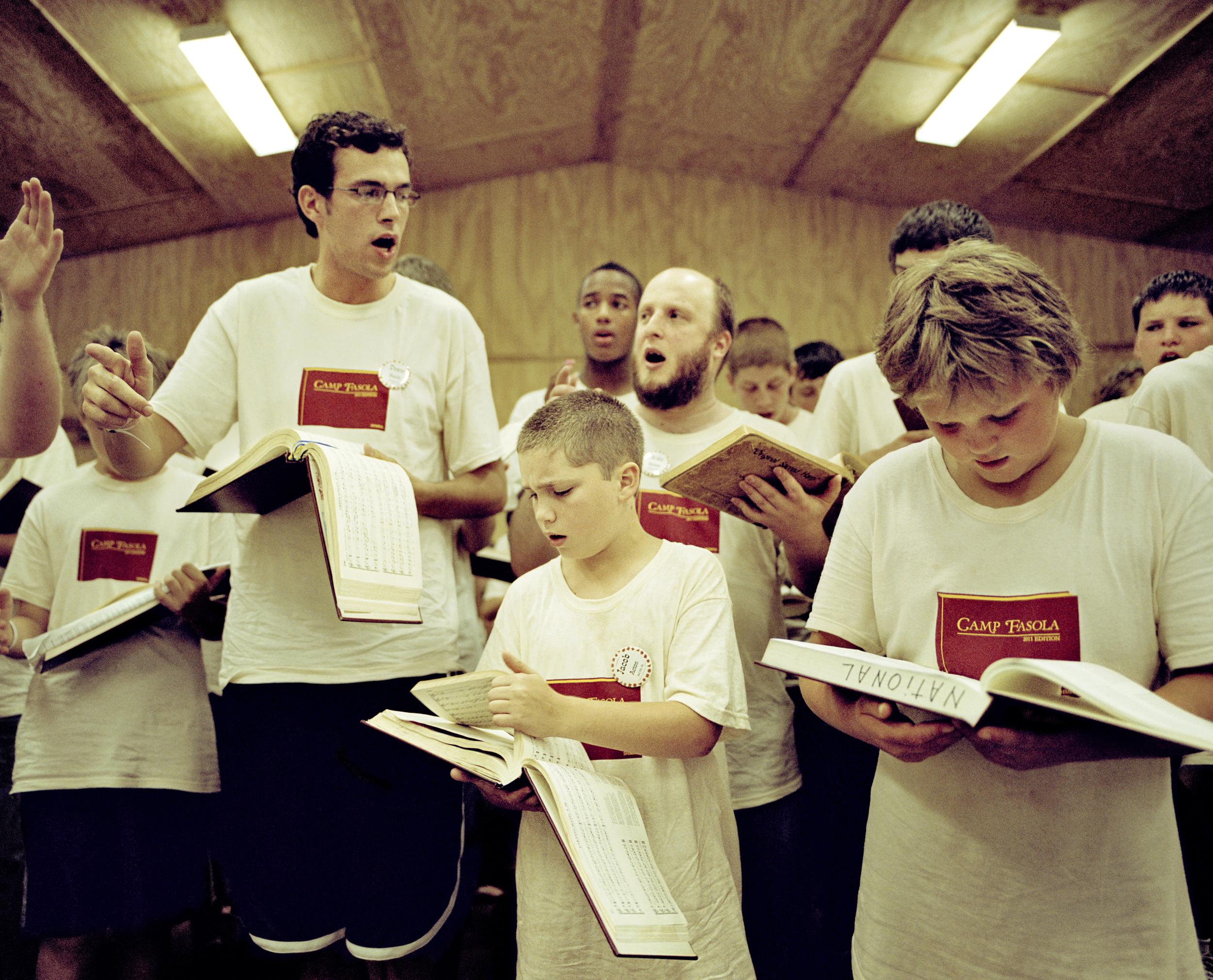 Boy's Lesson, Camp Fasola, Anniston AL, 2011 Resized.jpg
