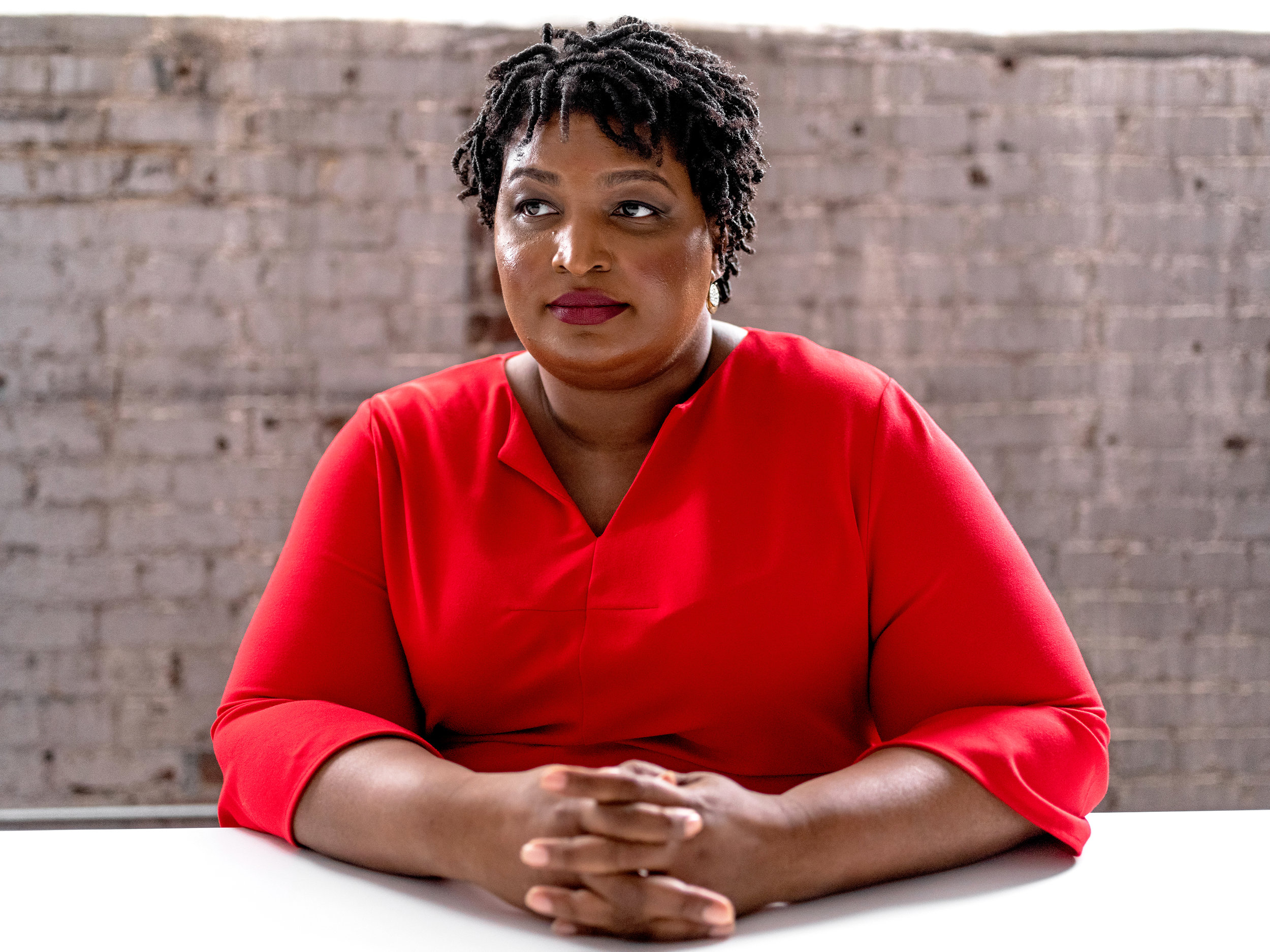 Stacey Abrams for  The New York Times