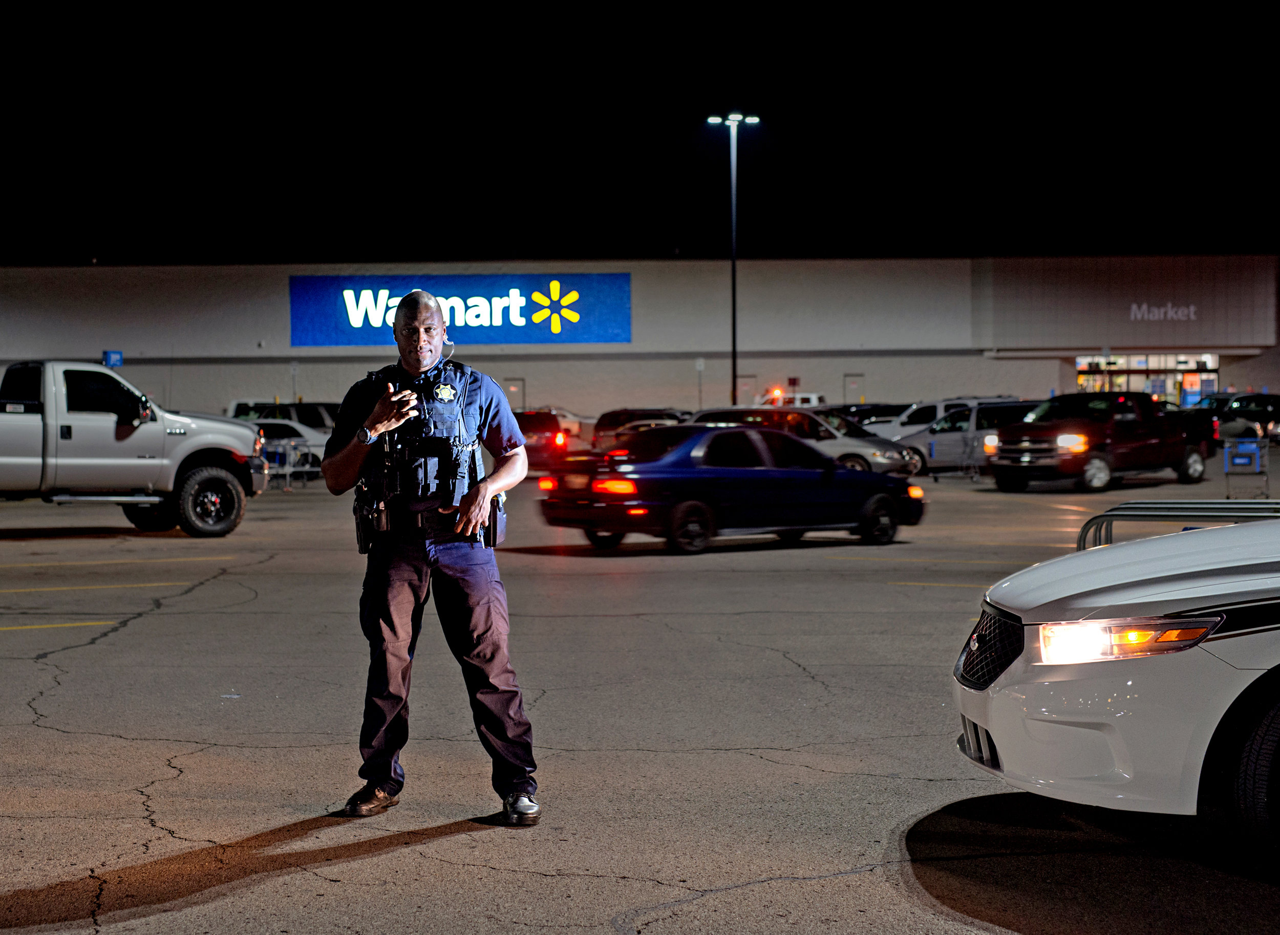 Crime at Walmart for  Bloomberg