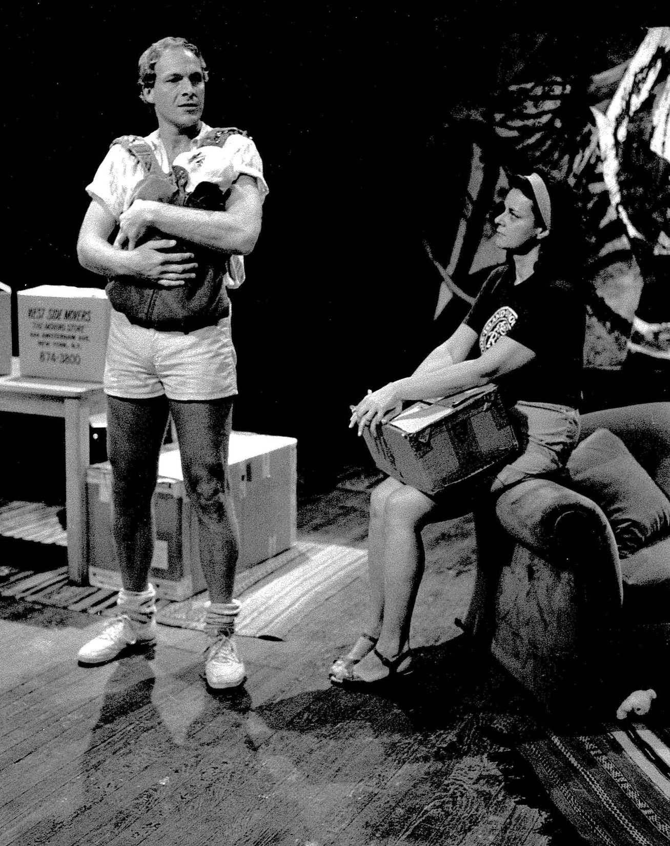 Craig Michael Lewis as Lon, Susan Jones Manino as Sarah