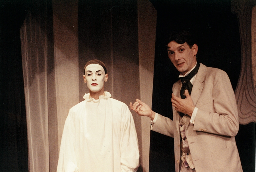 Beardsley with Pierrot, his muse