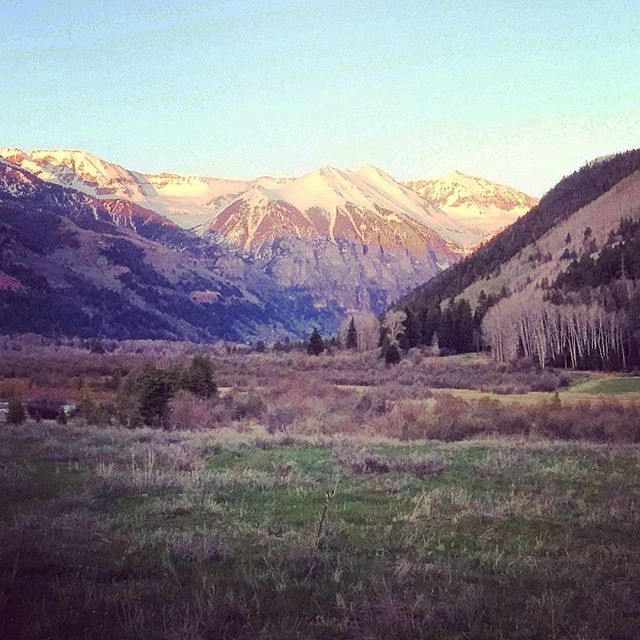 My new front yard!! Mountain Village at Telluride, CO