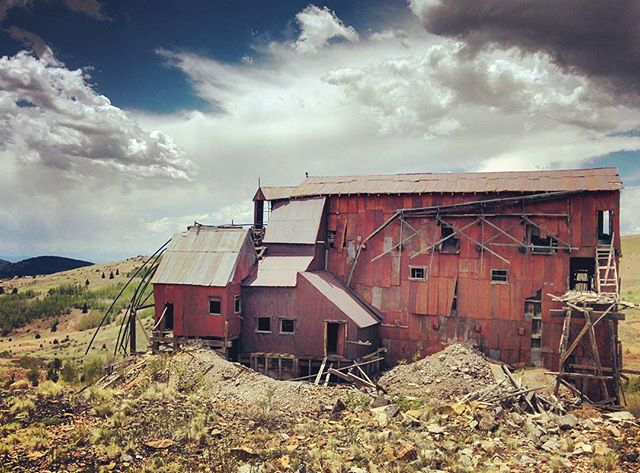 Old goldmine in Victor, CO.