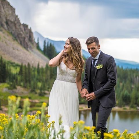 Highlight from Lindsey & Matt's wedding at Gold Basin, Alta Lakes, Telluride, CO. The rest of the photos will be up soon on my Facebook page! #TellurideWedding #TellurideWeddingPhotographer