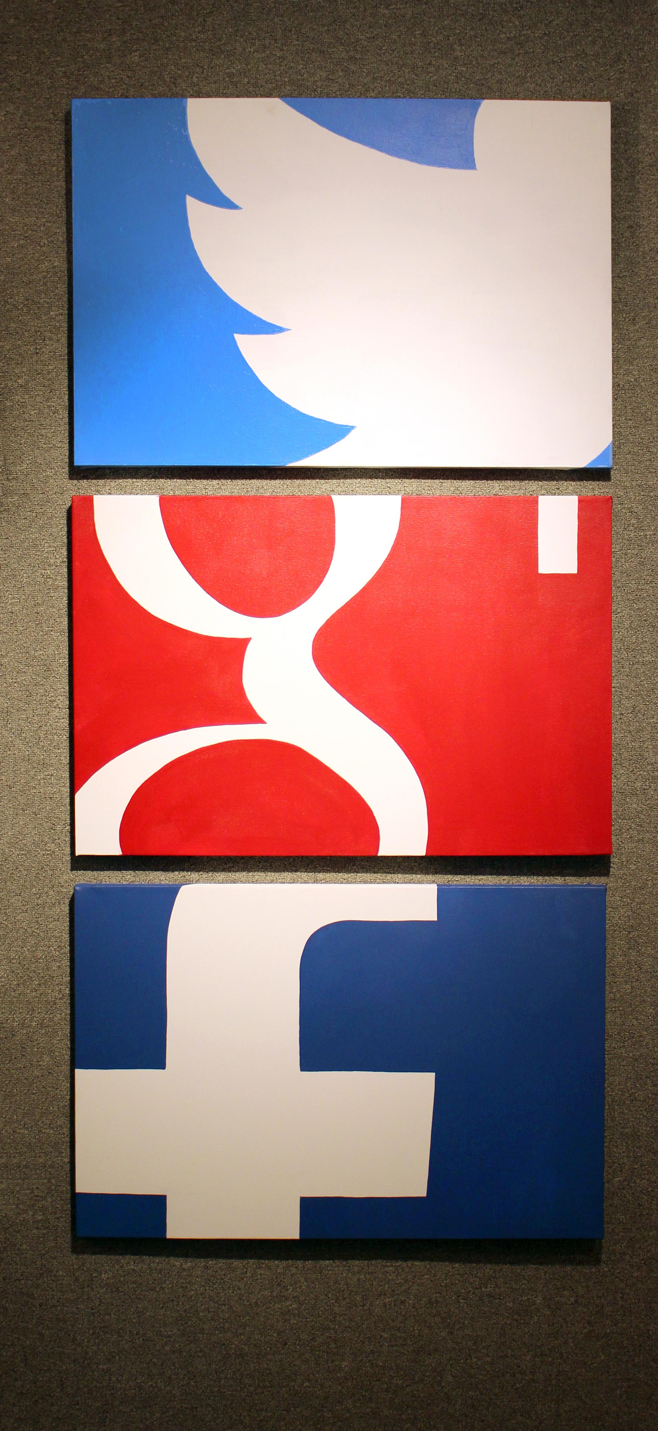 Social Media Tryptic