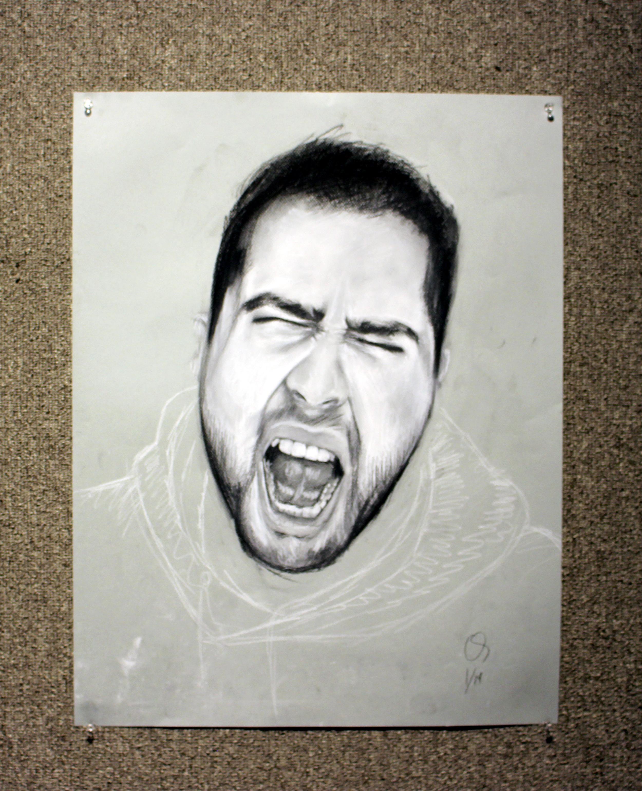Screaming Self Portrait