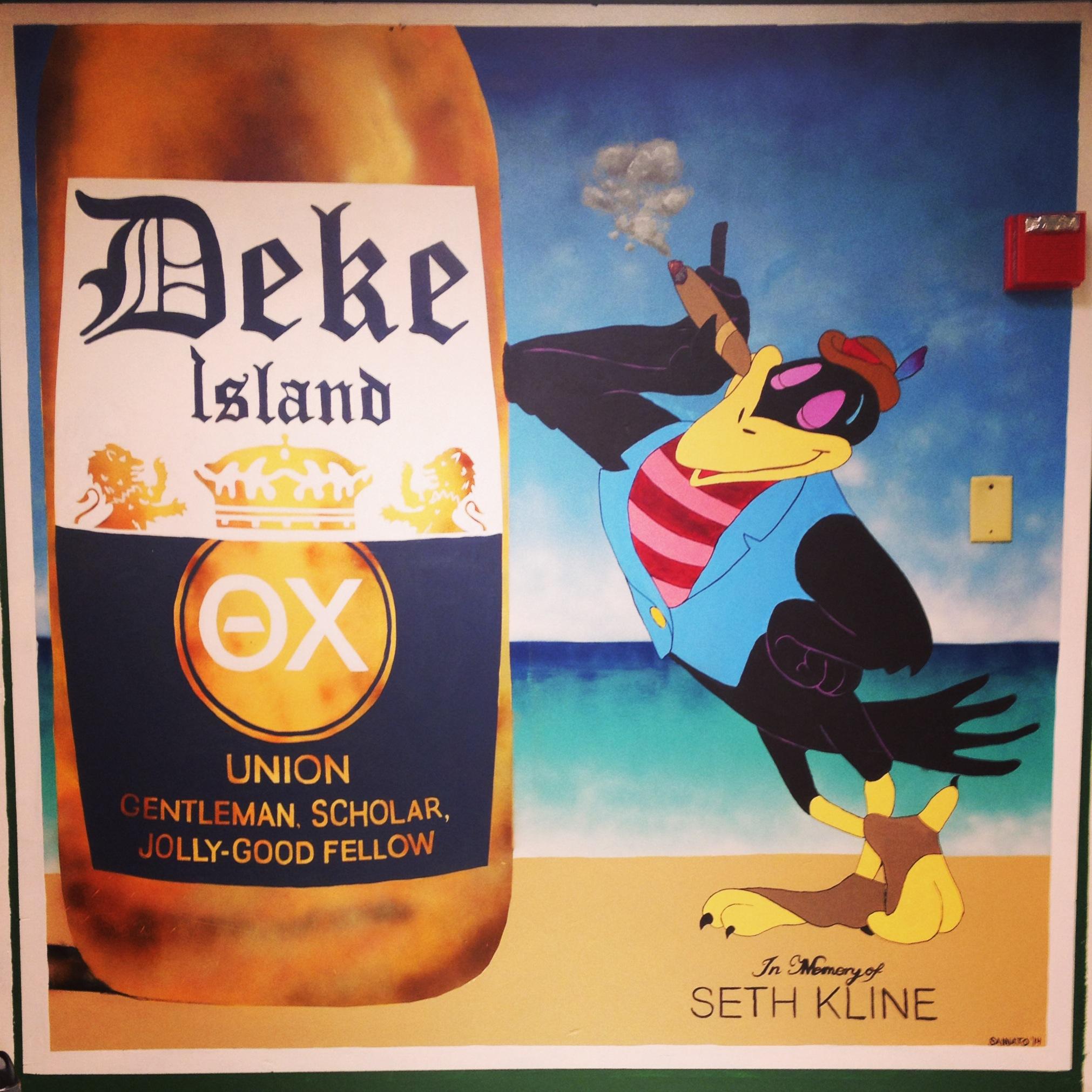 Deke Island Mural